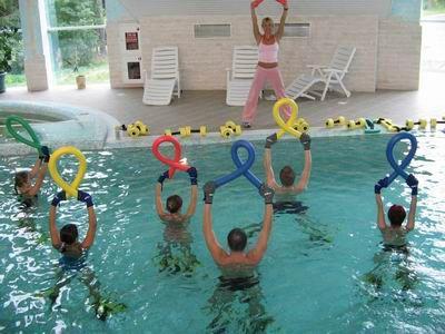Аквааеробіка: відео про фітнесі в воді