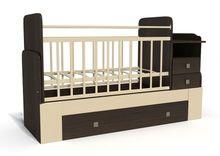 Дитячі ліжечка трансформери - комфорт і функціональність