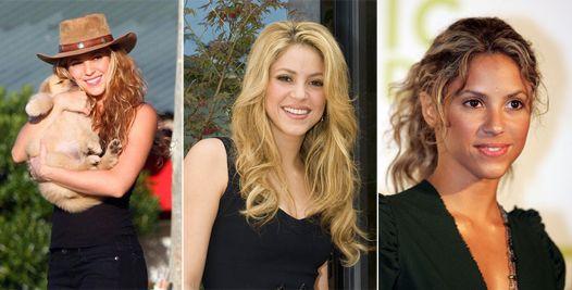 Еволюція: зачіски шакіри
