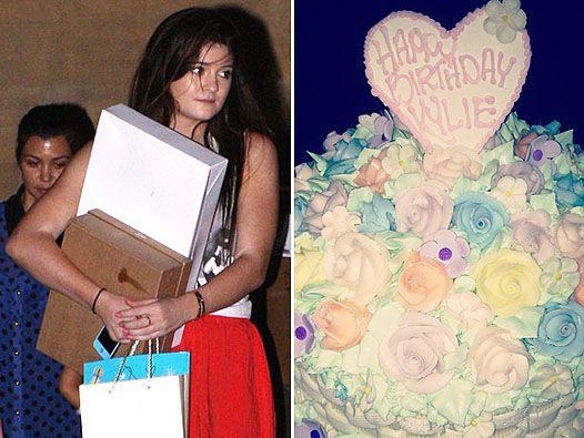 Кайлі дженнер відзначила день народження з родиною