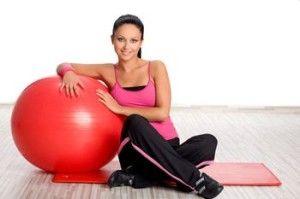 Як для схуднення використовувати фітбол