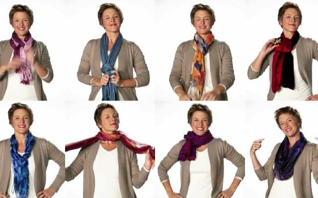 Як навчитися зав'язувати шарф: краща прикраса для твоєї шиї