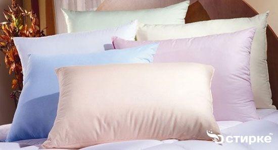 Як випрати і висушити пером подушку в домашніх умовах