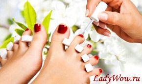 Як правильно і акуратно нафарбувати нігті на ногах