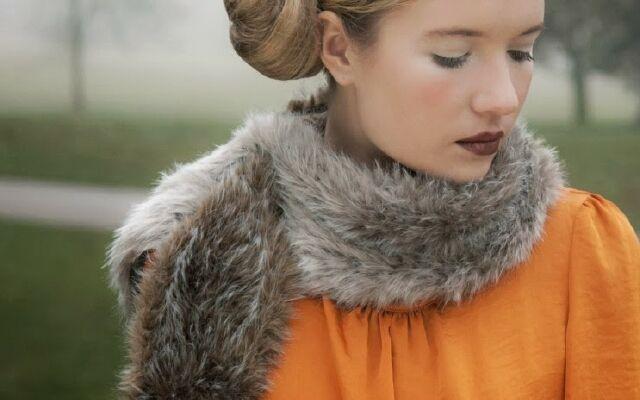 Як правильно зав'язувати палантин: прикрась свою шийку
