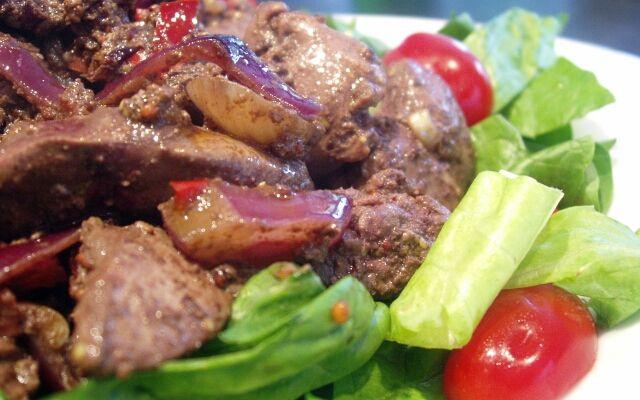 Як приготувати печінковий салат: для любителів печінки
