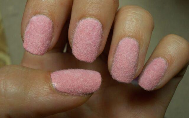 Як зробити оксамитовий манікюр: кашемір на нігтях