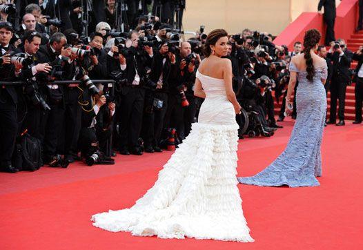 Канни-2010: сукні з відкритою спиною