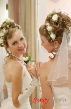 В день весілля - поради для весільної зачіски