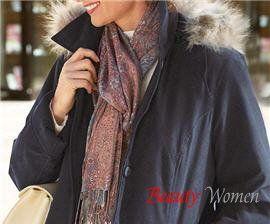 Легкі шарфи і хустки. Як правильно підібрати шарф?