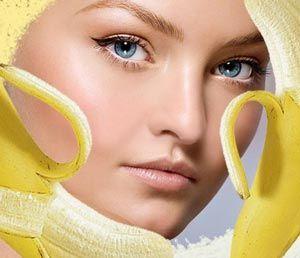 Маска для обличчя з банана в домашніх умовах