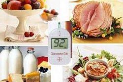 Меню дієти при цукровому діабеті 1 і 2 типу