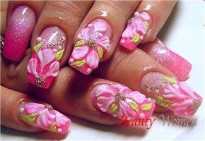Нейл арт дизайн. Дизайн нігтів самостійно. Приклади nail art