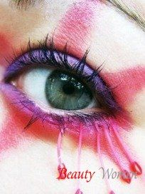 Основи макіяжу очей. Фарбування вій. Нарощені вії. Засоби для макіяжу очей: підводка, швидкосохнуча туш