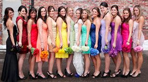 Плаття для подружок нареченої