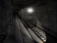 Поїзд - привид в московському метро