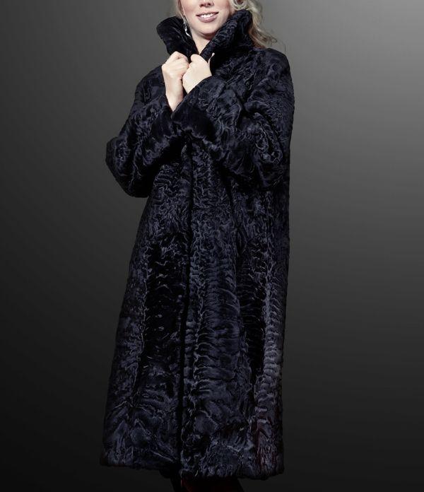 Шуби з каракульчі - відроджене тенденція моди або ж стандартне класичне виконання