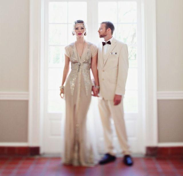 Стиль «гетсбі» - чудове рішення для весілля!