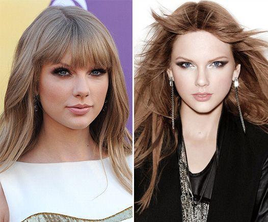 Тейлор свіфт змінила колір волосся