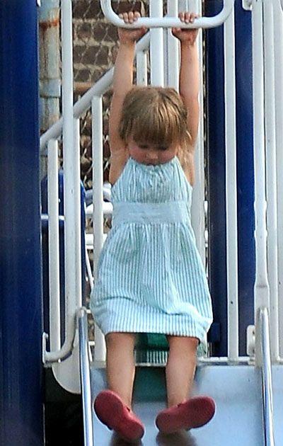 Вгадай малюка: спортивна дівчинка