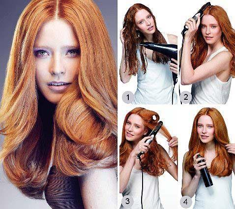 Укладання волосся різної довжини феном по етапної інструкції