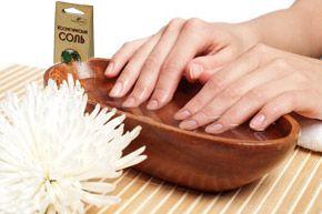 Ванночки із сіллю для нігтів