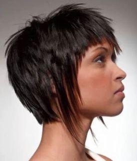 Жіночі креативні стрижки на коротке волосся боб, каскад, каре, аврора