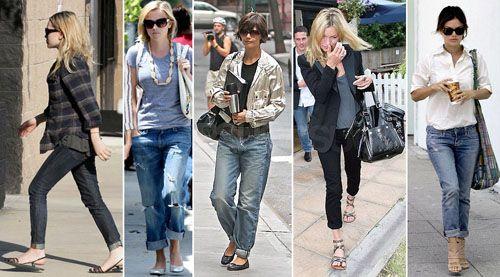 Звездотренд: селебріті бережуть джинси і показують взуття